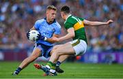 14 September 2019; Jonny Cooper of Dublin in action against Seán O'Shea of Kerry during the GAA Football All-Ireland Senior Championship Final Replay match between Dublin and Kerry at Croke Park in Dublin. Photo by Seb Daly/Sportsfile