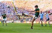 14 September 2019; David Clifford of Kerry scores a point during the GAA Football All-Ireland Senior Championship Final Replay match between Dublin and Kerry at Croke Park in Dublin. Photo by Sam Barnes/Sportsfile