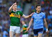 14 September 2019; Jason Foley of Kerry and Dean Rock of Dublin during the GAA Football All-Ireland Senior Championship Final Replay between Dublin and Kerry at Croke Park in Dublin. Photo by Seb Daly/Sportsfile