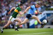14 September 2019; Con O'Callaghan of Dublin in action against Tom O'Sullivan of Kerry during the GAA Football All-Ireland Senior Championship Final Replay between Dublin and Kerry at Croke Park in Dublin. Photo by Stephen McCarthy/Sportsfile