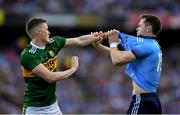 14 September 2019; Jason Foley of Kerry and Dean Rock of Dublin during the GAA Football All-Ireland Senior Championship Final Replay match between Dublin and Kerry at Croke Park in Dublin. Photo by Eóin Noonan/Sportsfile