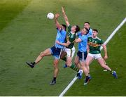14 September 2019; Dublin players, left to right, James McCarthy, John Small, and Niall Scully in action against Kerry players, left to right, David Moran, and Paul Geaney, during the GAA Football All-Ireland Senior Championship Final Replay match between Dublin and Kerry at Croke Park in Dublin. Photo by Daire Brennan/Sportsfile