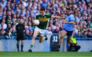 14 September 2019; Jack Barry of Kerry in action against James McCarthy of Dublin during the GAA Football All-Ireland Senior Championship Final Replay match between Dublin and Kerry at Croke Park in Dublin. Photo by Sam Barnes/Sportsfile