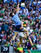 14 September 2019; David Clifford of Kerry in action against Michael Fitzsimons of Dublin during the GAA Football All-Ireland Senior Championship Final Replay match between Dublin and Kerry at Croke Park in Dublin. Photo by David Fitzgerald/Sportsfile