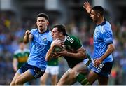 14 September 2019; David Moran of Kerry in action against Michael Fitzsimons, left, and James McCarthy of Dublin during the GAA Football All-Ireland Senior Championship Final Replay match between Dublin and Kerry at Croke Park in Dublin. Photo by David Fitzgerald/Sportsfile