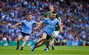 14 September 2019; Eoin Murchan of Dublin celebrates after scoring his side's first goal during the GAA Football All-Ireland Senior Championship Final Replay match between Dublin and Kerry at Croke Park in Dublin. Photo by Sam Barnes/Sportsfile