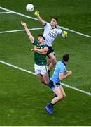 14 September 2019; Stephen Cluxton of Dublin in action against Paul Geaney of Kerry during the GAA Football All-Ireland Senior Championship Final Replay match between Dublin and Kerry at Croke Park in Dublin. Photo by Daire Brennan/Sportsfile