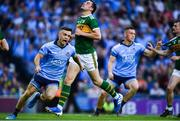 14 September 2019; Eoin Murchan of Dublin celebrates after scoring his side's first goal during the GAA Football All-Ireland Senior Championship Final Replay match between Dublin and Kerry at Croke Park in Dublin. Photo by David Fitzgerald/Sportsfile