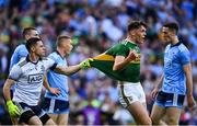 14 September 2019; David Clifford of Kerry in action against Stephen Cluxton of Dublin during the GAA Football All-Ireland Senior Championship Final Replay match between Dublin and Kerry at Croke Park in Dublin. Photo by David Fitzgerald/Sportsfile