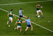 14 September 2019; Eoin Murchan of Dublin scores his side's first goal during the GAA Football All-Ireland Senior Championship Final Replay match between Dublin and Kerry at Croke Park in Dublin. Photo by Daire Brennan/Sportsfile