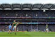 14 September 2019; David Clifford of Kerry kicks a point during the GAA Football All-Ireland Senior Championship Final Replay match between Dublin and Kerry at Croke Park in Dublin. Photo by Seb Daly/Sportsfile