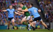 14 September 2019; David Moran of Kerry is tackled by Brian Fenton of Dublin during the GAA Football All-Ireland Senior Championship Final Replay between Dublin and Kerry at Croke Park in Dublin. Photo by Stephen McCarthy/Sportsfile