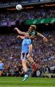 14 September 2019; Philip McMahon of Dublin in action against Tommy Walsh of Kerry during the GAA Football All-Ireland Senior Championship Final Replay match between Dublin and Kerry at Croke Park in Dublin. Photo by Seb Daly/Sportsfile