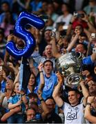 14 September 2019; Dublin captain Stephen Cluxton lifts The Sam Maguire Cup following the GAA Football All-Ireland Senior Championship Final Replay match between Dublin and Kerry at Croke Park in Dublin. Photo by Sam Barnes/Sportsfile