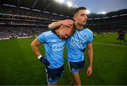 14 September 2019; Jonny Cooper and Niall Scully of Dublin after the GAA Football All-Ireland Senior Championship Final Replay match between Dublin and Kerry at Croke Park in Dublin. Photo by Stephen McCarthy/Sportsfile
