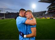 14 September 2019; James McCarthy, left, and Jonny Cooper of Dublin after the GAA Football All-Ireland Senior Championship Final Replay match between Dublin and Kerry at Croke Park in Dublin. Photo by Stephen McCarthy/Sportsfile