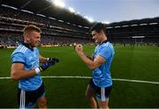 14 September 2019; Diarmuid Connolly, right, and Jonny Cooper of Dublin after the GAA Football All-Ireland Senior Championship Final Replay match between Dublin and Kerry at Croke Park in Dublin. Photo by Stephen McCarthy/Sportsfile