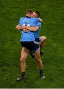 14 September 2019; Ciarán Kilkenny, left, and Con O'Callaghan of Dublin celebrate after the GAA Football All-Ireland Senior Championship Final Replay match between Dublin and Kerry at Croke Park in Dublin. Photo by Daire Brennan/Sportsfile