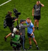 14 September 2019; Dublin manager Jim Gavin celebrates with Jonny Cooper after the GAA Football All-Ireland Senior Championship Final Replay match between Dublin and Kerry at Croke Park in Dublin. Photo by Daire Brennan/Sportsfile