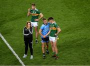 14 September 2019; Jonny Cooper of Dublin shakes hands with David Clifford of Kerry after the GAA Football All-Ireland Senior Championship Final Replay match between Dublin and Kerry at Croke Park in Dublin. Photo by Daire Brennan/Sportsfile