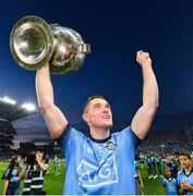 14 September 2019; Brian Fenton of Dublin celebrates with the Sam Maguire Cup following the GAA Football All-Ireland Senior Championship Final Replay between Dublin and Kerry at Croke Park in Dublin. Photo by Seb Daly/Sportsfile