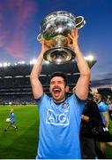 14 September 2019; Cian O'Sullivan of Dublin celebrates with the Sam Maguire Cup following the GAA Football All-Ireland Senior Championship Final Replay between Dublin and Kerry at Croke Park in Dublin. Photo by Seb Daly/Sportsfile