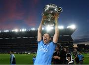 14 September 2019; Cian O'Sullivan of Dublin with the Sam Maguire cup following the GAA Football All-Ireland Senior Championship Final Replay match between Dublin and Kerry at Croke Park in Dublin. Photo by Ramsey Cardy/Sportsfile
