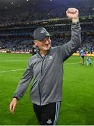 14 September 2019; Dublin manager Jim Gavin following the GAA Football All-Ireland Senior Championship Final Replay match between Dublin and Kerry at Croke Park in Dublin. Photo by Ramsey Cardy/Sportsfile