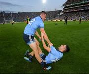 14 September 2019; Brian Howard, left, and Niall Scully of Dublin following the GAA Football All-Ireland Senior Championship Final Replay match between Dublin and Kerry at Croke Park in Dublin. Photo by Ramsey Cardy/Sportsfile