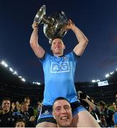 14 September 2019; Philip McMahon is lifted by Dublin team-mate  John Small following the GAA Football All-Ireland Senior Championship Final Replay match between Dublin and Kerry at Croke Park in Dublin. Photo by Ramsey Cardy/Sportsfile