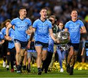 14 September 2019; Dublin players from left, John Small, Brian Fenton and Ciarán Kilkenny following the GAA Football All-Ireland Senior Championship Final Replay match between Dublin and Kerry at Croke Park in Dublin. Photo by Eóin Noonan/Sportsfile