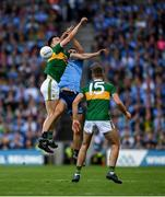 14 September 2019; Paul Murphy of Kerry in action against James McCarthy of Dublin during the GAA Football All-Ireland Senior Championship Final Replay match between Dublin and Kerry at Croke Park in Dublin. Photo by Eóin Noonan/Sportsfile