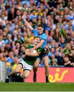 14 September 2019; Tommy Walsh of Kerry is tackled by Brian Fenton of Dublin during the GAA Football All-Ireland Senior Championship Final Replay match between Dublin and Kerry at Croke Park in Dublin. Photo by Eóin Noonan/Sportsfile
