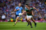 14 September 2019; Stephen O'Brien of Kerry is tackled by Niall Scully of Dublin during the GAA Football All-Ireland Senior Championship Final Replay match between Dublin and Kerry at Croke Park in Dublin. Photo by Eóin Noonan/Sportsfile