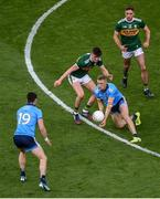 14 September 2019; Paul Mannion of Dublin in action against Seán O'Shea of Kerry during the GAA Football All-Ireland Senior Championship Final Replay match between Dublin and Kerry at Croke Park in Dublin. Photo by Daire Brennan/Sportsfile
