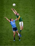 14 September 2019; David Moran of Kerry in action against Brian Howard of Dublin during the GAA Football All-Ireland Senior Championship Final Replay match between Dublin and Kerry at Croke Park in Dublin. Photo by Daire Brennan/Sportsfile