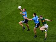 14 September 2019; Ciarán Kilkenny, left, and Brian Fenton of Dublin in action against Jason Foley of Kerry during the GAA Football All-Ireland Senior Championship Final Replay match between Dublin and Kerry at Croke Park in Dublin. Photo by Daire Brennan/Sportsfile