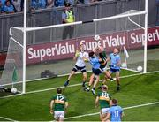 14 September 2019; Seán O'Shea of Kerry in action against Kevin McManamon of Dublin near the end of the GAA Football All-Ireland Senior Championship Final Replay match between Dublin and Kerry at Croke Park in Dublin. Photo by Daire Brennan/Sportsfile
