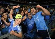 14 September 2019; Jack McCaffrey of Dublin with family members following the GAA Football All-Ireland Senior Championship Final Replay match between Dublin and Kerry at Croke Park in Dublin. Photo by Ramsey Cardy/Sportsfile