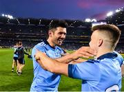 14 September 2019; Cian O'Sullivan of Dublin, left, celebrates with Eoin Murchan following the GAA Football All-Ireland Senior Championship Final Replay match between Dublin and Kerry at Croke Park in Dublin. Photo by Sam Barnes/Sportsfile