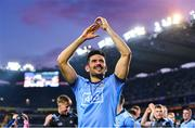 14 September 2019; Cian O'Sullivan of Dublin celebrates following the GAA Football All-Ireland Senior Championship Final Replay match between Dublin and Kerry at Croke Park in Dublin. Photo by Sam Barnes/Sportsfile