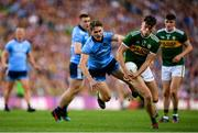 14 September 2019; David Clifford of Kerry is tackled by Michael Fitzsimons of Dublin during the GAA Football All-Ireland Senior Championship Final Replay match between Dublin and Kerry at Croke Park in Dublin. Photo by Eóin Noonan/Sportsfile