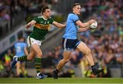 14 September 2019; Brian Fenton of Dublin in action against David Moran of Kerry during the GAA Football All-Ireland Senior Championship Final Replay between Dublin and Kerry at Croke Park in Dublin. Photo by Stephen McCarthy/Sportsfile