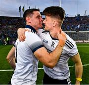 14 September 2019; Dublin captain Stephen Cluxton and his understudy Evan Comerford of Dublin celebrate after the final whistle of  the GAA Football All-Ireland Senior Championship Final Replay match between Dublin and Kerry at Croke Park in Dublin. Photo by Ray McManus/Sportsfile