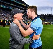 14 September 2019; Dublin manager Jim Gavin and Jack McCaffrey celebrate after the GAA Football All-Ireland Senior Championship Final Replay match between Dublin and Kerry at Croke Park in Dublin. Photo by Ray McManus/Sportsfile