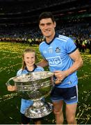 14 September 2019; Diarmuid Connolly of Dublin poses with the Sam Maguire cup following the GAA Football All-Ireland Senior Championship Final Replay between Dublin and Kerry at Croke Park in Dublin. Photo by Stephen McCarthy/Sportsfile