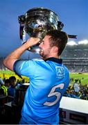 14 September 2019; Jack McCaffrey of Dublin lifts the Sam Maguire Cup after the GAA Football All-Ireland Senior Championship Final Replay match between Dublin and Kerry at Croke Park in Dublin. Photo by Ray McManus/Sportsfile