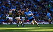 14 September 2019; Paul Mannion of Dublin in action against Tadhg Morley of Kerry during the GAA Football All-Ireland Senior Championship Final Replay match between Dublin and Kerry at Croke Park in Dublin. Photo by Ray McManus/Sportsfile