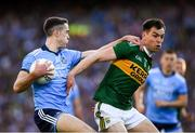 14 September 2019; Brian Fenton of Dublin in action against Jack Barry of Kerry during the GAA Football All-Ireland Senior Championship Final Replay match between Dublin and Kerry at Croke Park in Dublin. Photo by Ray McManus/Sportsfile