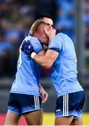 14 September 2019; Jonny Cooper of Dublin, right, celebrates with Niall Scully following  the GAA Football All-Ireland Senior Championship Final Replay match between Dublin and Kerry at Croke Park in Dublin. Photo by Sam Barnes/Sportsfile